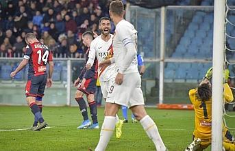 Cengiz Ünder'in de gol attığı maçta Roma, Genoa'yı...