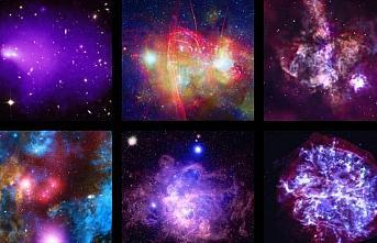 Chandra Teleskobu, çarpışarak birleşen galaksi...