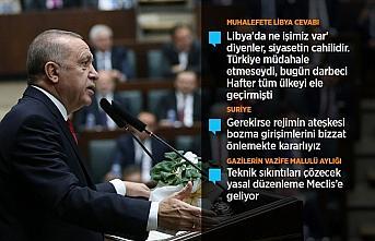 Cumhurbaşkanı Erdoğan: Hafter'e hak ettiği dersi...