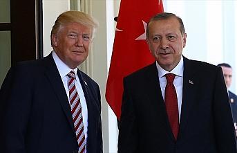 Cumhurbaşkanı Erdoğan ile ABD Başkanı Trump telefonda...
