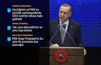 Cumhurbaşkanı Erdoğan: Yeni bir şahlanış döneminin...