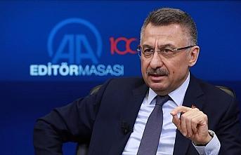 Cumhurbaşkanı Yardımcısı Oktay: Suriye'nin kuzeyinde güvenli bölgeye model olacak bir alan planlanıyor