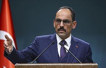 Cumhurbaşkanlığı Sözcüsü Kalın: ABD ve İran'ı...