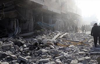 Esed rejimininden İdlib'e hava ve kara saldırıları:...