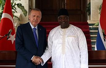 'Gambiya ile Türkiye ikili ilişkilerinin en önemli...