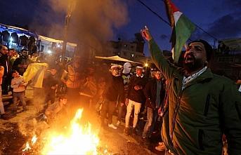 Gazze'de ABD'nin sözde barış planına yönelik...
