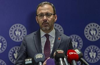 Gençlik ve Spor Bakanı Kasapoğlu: Spor, dostluk...