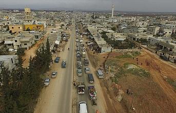 İdlib'de kasımdan bu yana 541 bin kişi yerinden...