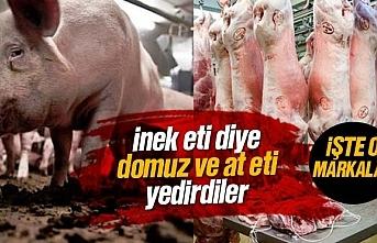 İnek eti diye domuz ve at eti satan firmalar ifşa...