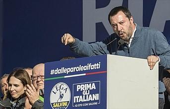 İtalya'da Salvini'nin dokunulmazlığı Senato Genel...