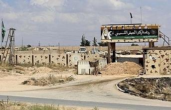 Libya'da Trablus'un güneyindeki mevziler...