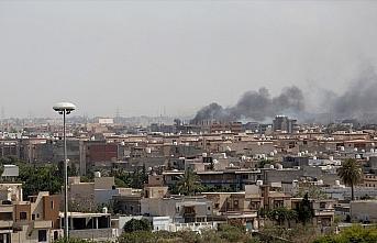 Libya'daki Hafter milislerinin başkent çevresinde...