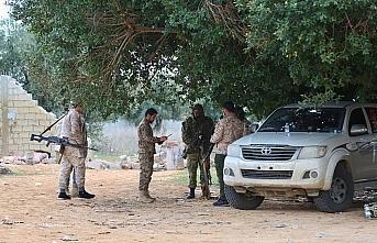 Libya'daki UMH birlikleri Hafter güçlerinin saldırı...