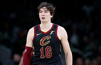 NBA'de Cavaliers forması giyen Cedi Osman'dan 14...
