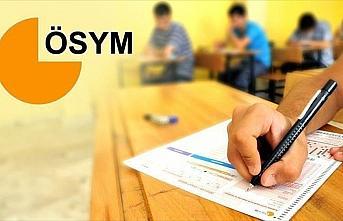 ÖSYM'nin geçen yılki sınavlarına 8 milyonun üzerinde aday katıldı