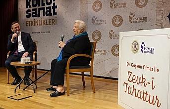 Prof. Dr. Nurhan Atasoy, Zevk-i Tahattur Programına konuk oldu