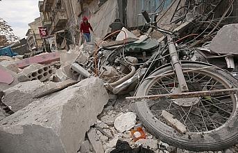 Rusya'nın İdlib Gerginliği Azaltma Bölgesi'ndeki...