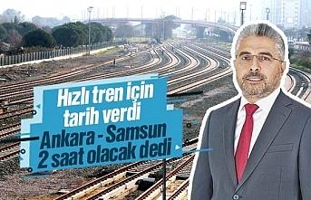 Samsun'a Yüksek Hızlı Tren (YHT) ne zaman gelecek?