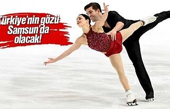 Samsun'da Artistik Buz Pateni Şampiyonası yapılacak