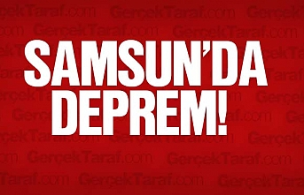 Samsun'da deprem mi oldu?