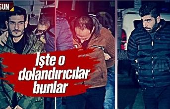 Samsun'da telefon ile arayıp dolandıran şahıslar yakalandı