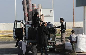 Tel Abyadlıların evlerine dönüşleri sürüyor