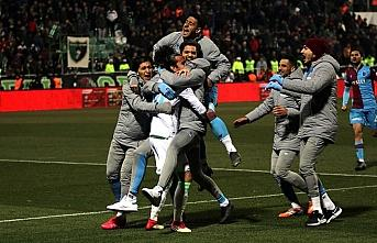 Trabzonspor kupada çeyrek finale adını yazdırdı