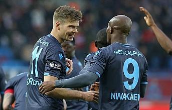 Trabzonspor Sörloth ve Nwakaeme ile coştu
