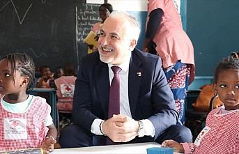 Türk Kızılay Afrika'nın ilk bölge ofisi için...