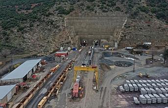 Türkiye'nin en uzun demir yolu tünelinde sona...