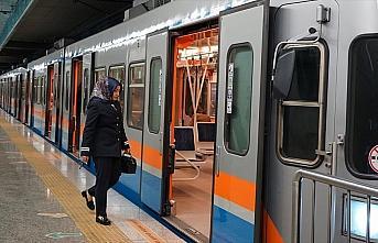 Yenikapı-Hacıosman metrosu cumartesi günleri de...