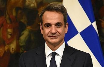 Yunanistan Başbakanı Miçotakis cumhurbaşkanı...