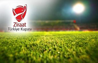 Ziraat Türkiye Kupası'nda son 16 turu maçlarının...