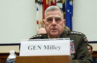 ABD Genelkurmay Başkanı: Türkiye-Suriye sınırına...