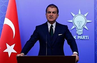 AK Parti Sözcüsü Çelik: AB dağılma gibi bir...