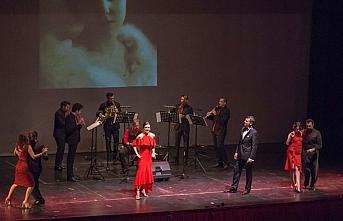 Antalya Devlet Opera ve Balesi 'Tangoloji' konserini sahneledi