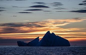 Antarktika'daki meteoroloji istasyonu güneş radyasyonunu...