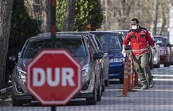 Avrupa'ya açılan sınır kapılarında koronavirüse...