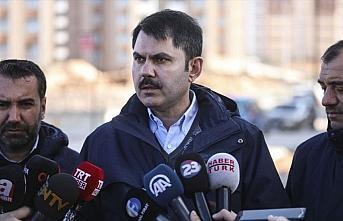 Bakan Kurum: Elazığ merkezli depremde acil yıkılacak...