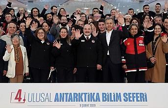 Bakan Varank 4. Ulusal Antarktika Bilim Seferi için...