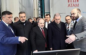 Bakanlar Akar ve Varank ile MİT Başkanı Fidan TÜBİTAK'ı...