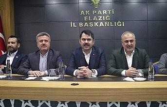Çevre ve Şehircilik Bakanı Kurum: Elazığ'da konut projelerini başlattık