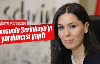 Çiğdem Karaaslan, Oğuzhan Serinkaya'yı yardımcısı yaptı