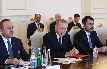 Cumhurbaşkanı Erdoğan: Hedef Türkiye-Azerbaycan...