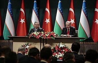 Cumhurbaşkanı Erdoğan: Özbekistan ile ticaretimizi...