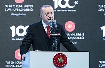 Cumhurbaşkanı Erdoğan: Sinsi faaliyetlerin hiçbiri...