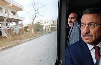 Cumhurbaşkanı Yardımcısı Fuat Oktay, kapalı...