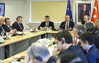 Dışişleri Bakanı Çavuşoğlu: AB katılım sürecinde...