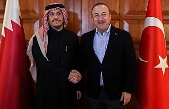 Dışişleri Bakanı Çavuşoğlu Katarlı mevkidaşını...