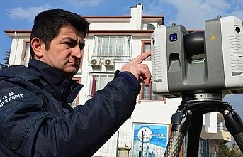 Elazığ depremindeki hasar teknolojik cihazlarla...